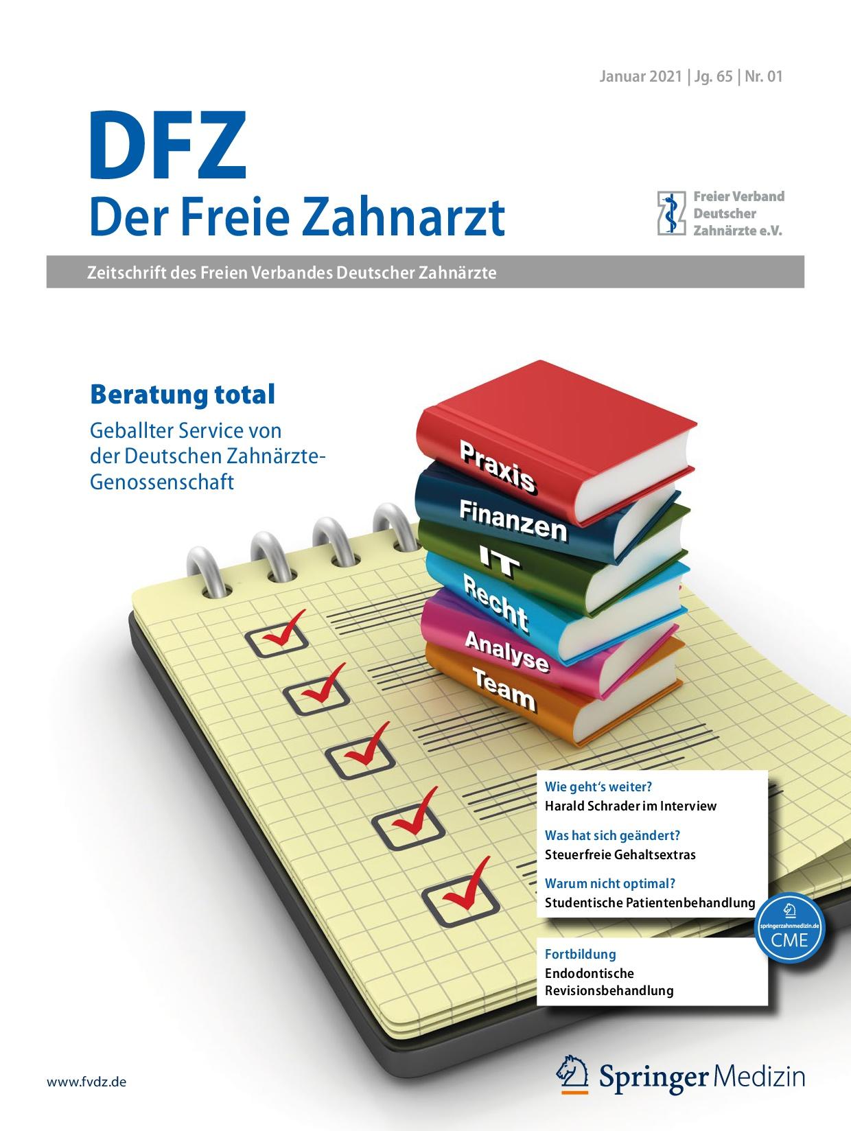 """In voller Länge: Die DZG eG in """"Der Freie Zahnarzt"""""""